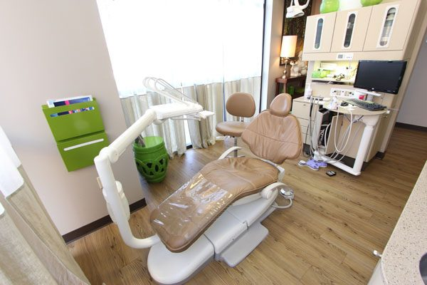 A comfortable patient chair